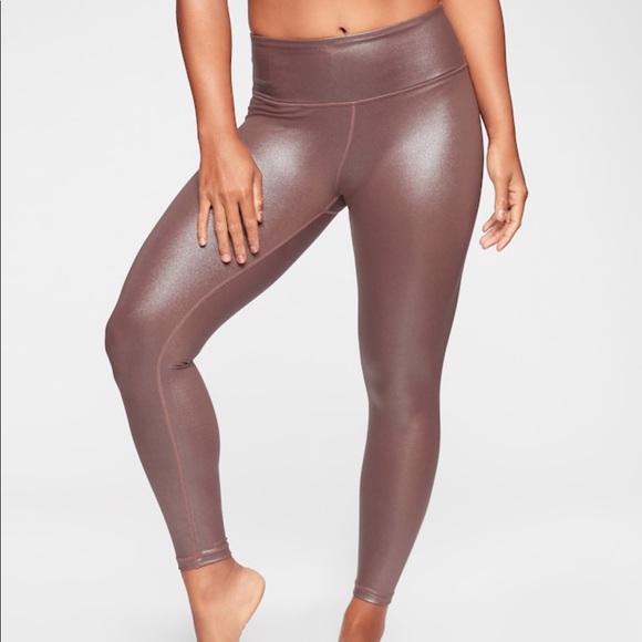 f9f77f4b520b Athleta Pants - Athleta Elation Shimmer Tight in Powervita XS